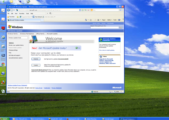 How to install Windows updates