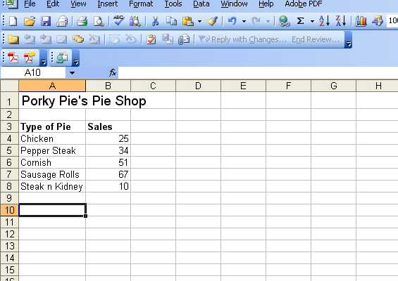 how to create a pie chart in microsoft excel 2003 business owl. Black Bedroom Furniture Sets. Home Design Ideas
